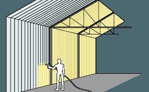 Ocieplanie hal hangarów